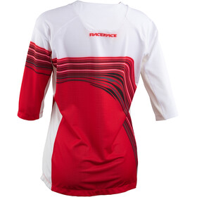 Race Face Khyber 3/4 Sleeve Jersey Women rouge